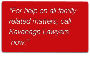 Kavanagh Lawyers providing legal advice for couples