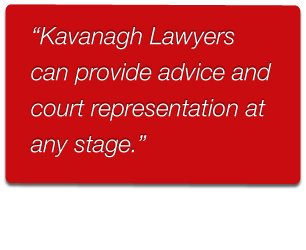 Kavanagh Lawyers providing legal advice on violence restraining orders