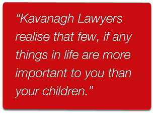 Kavanagh Lawyers providing legal advice on child support and custody